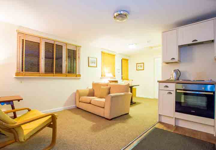 Bellows Mill Self Catering Accommodation - Hermitage Lounge