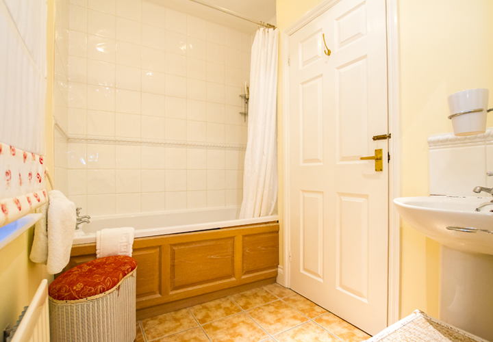 Bellows Mill Self Catering Accommodation - Kingfisher Bathroom
