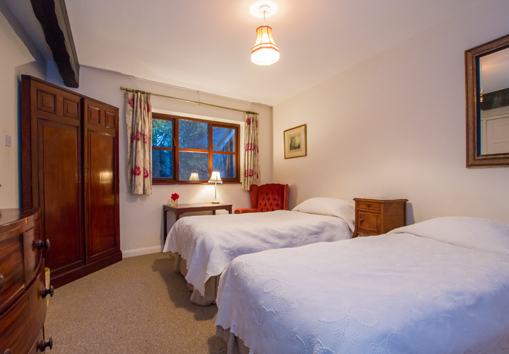 Bellows Mill Self Catering Accommodation - The Cottage Bedroom
