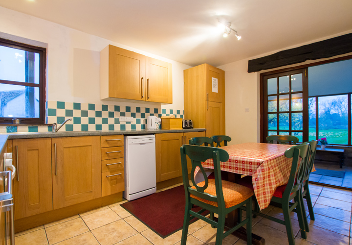 Bellows Mill Self Catering Accommodation - The Cottage Kitchen
