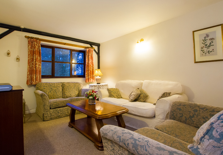 Bellows Mill Self Catering Accommodation - The Cottage Lounge